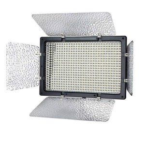 نور فلات اس ام دی شیدر دار مدل PROFESSIONAL Video Light LED 320 AS