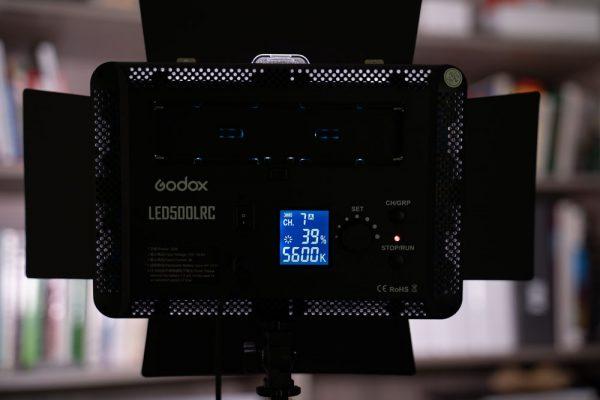 فلات ال ای دی گودوکس مدلGodox LED 500LRC Video Light